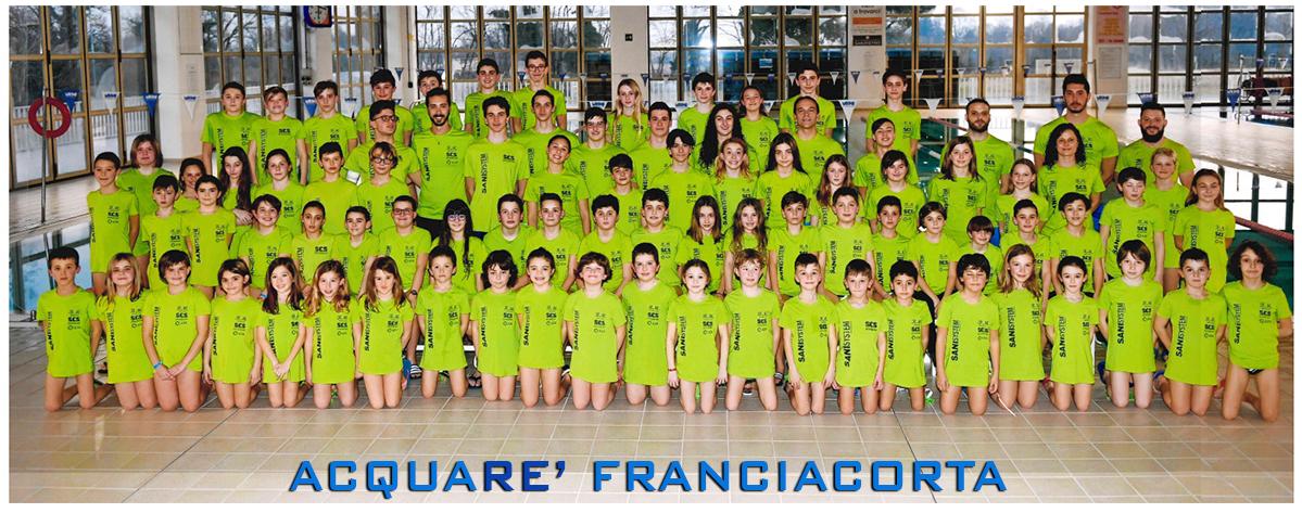 Acquaré Franciacorta Squadra Nuoto
